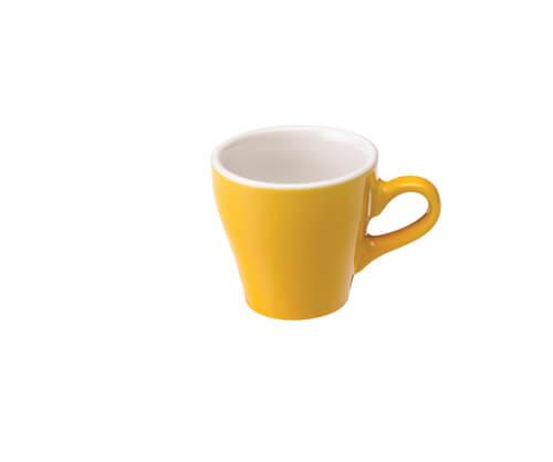 Tulip Espresso Kop 8 cl. Geel