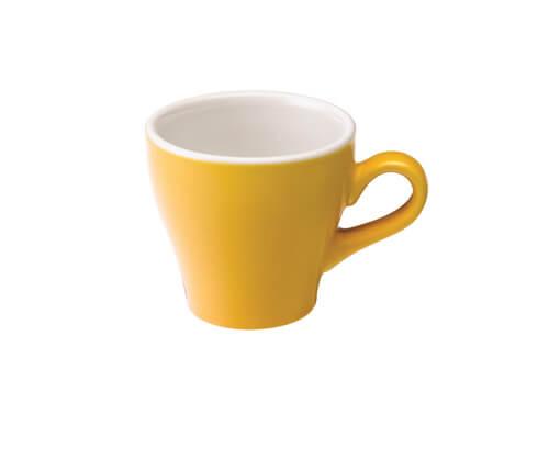 Tulip Koffie Kop 18 cl. Geel