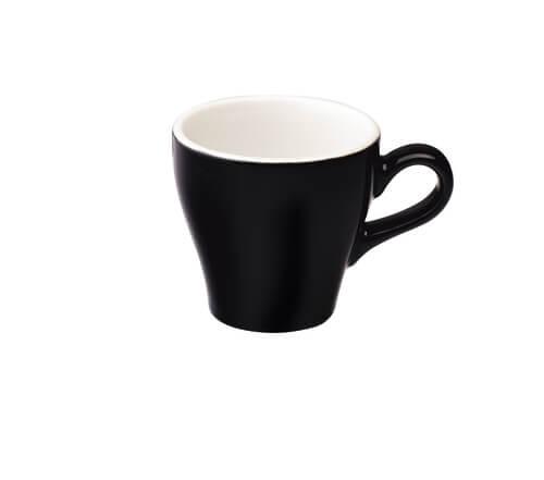 Tulip Koffie Kop 18 cl. Zwart