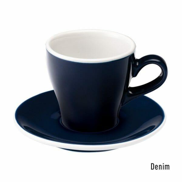 Tulip Koffie Kop & Schotel 18 cl. Denim