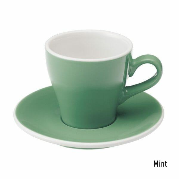 Tulip Koffie Kop & Schotel 18 cl. Mint