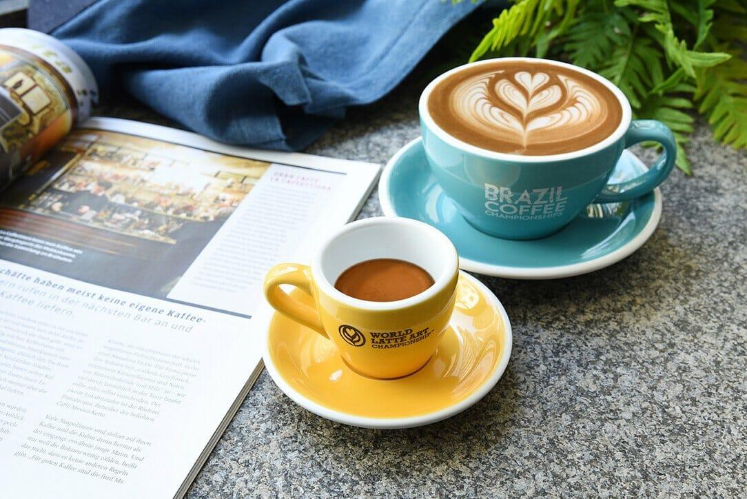 de kop van het world latte art championship 2018