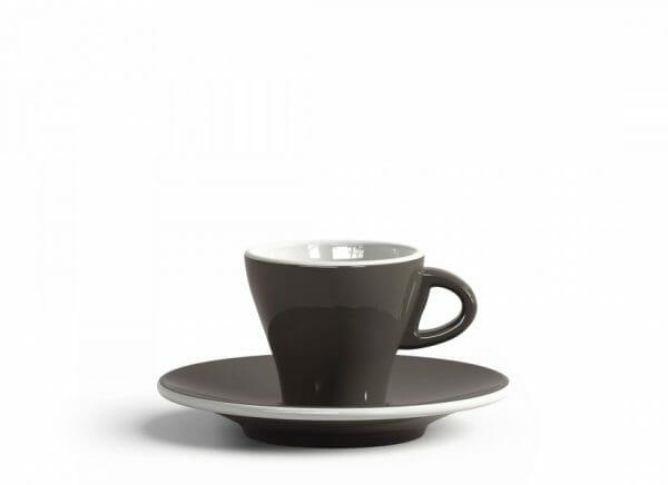 Gardenia Espresso kop en schotel Grijs 6