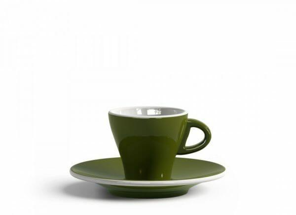 Gardenia Espresso kop en schotel Groen 6