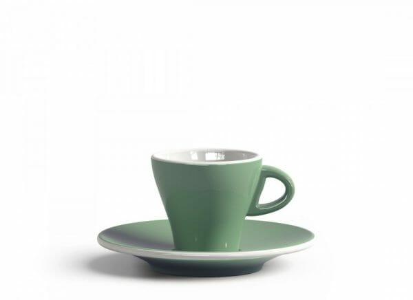 Gardenia Espresso kop en schotel Licht groen 6