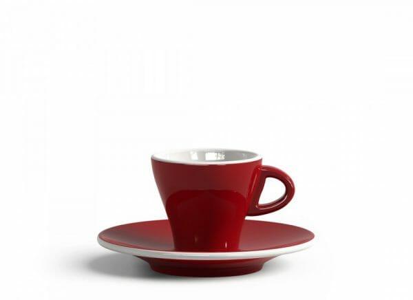 Gardenia Espresso kop en schotel Rood 6