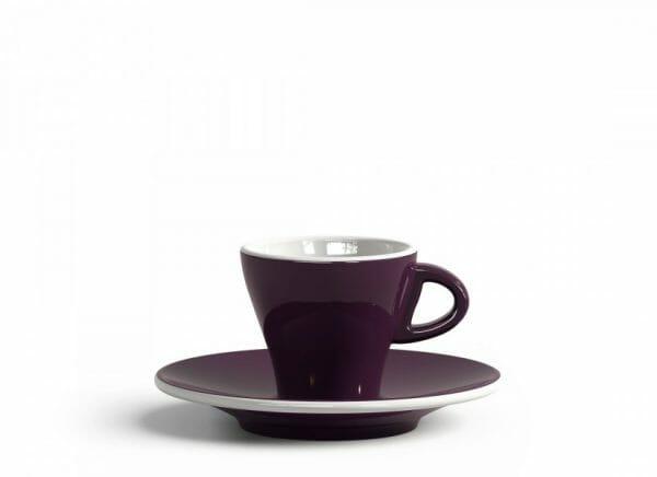 Gardenia Espresso kop en schotel Violet 6