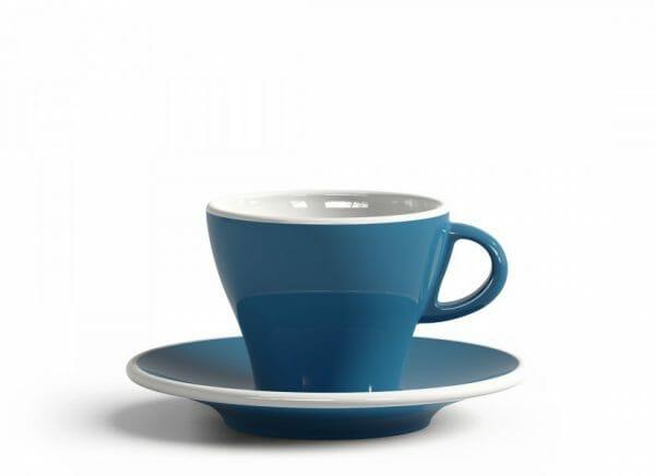 Gardenia Koffiekop en schotel Licht blauw 18