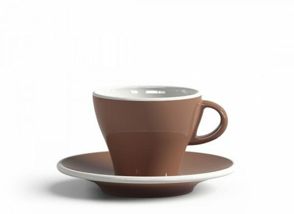 Gardenia Koffiekop en schotel Licht bruin 18