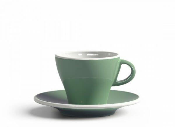 Gardenia Koffiekop en schotel Licht groen 18