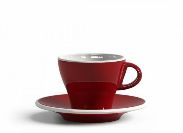 Gardenia Koffiekop en schotel Rood 18