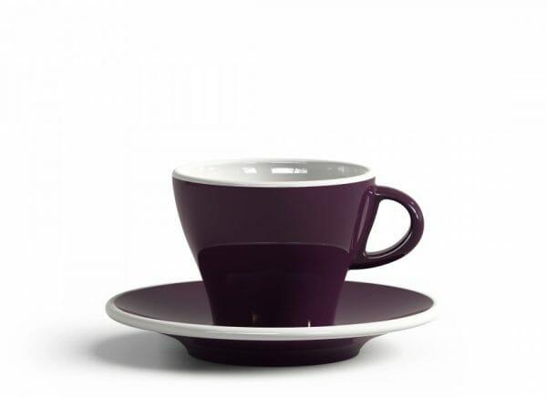 Gardenia Koffiekop en schotel Violet 18