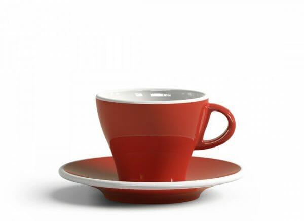 Gardenia Koffiekop en schotel Zalmroze 18