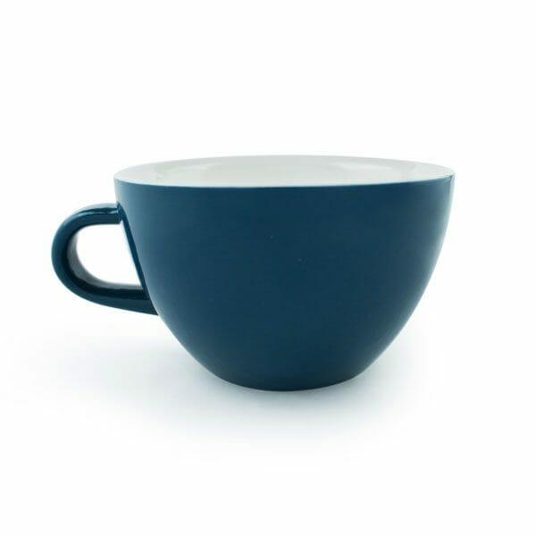 Acme Whale Latte kop 28 cl. Blauw